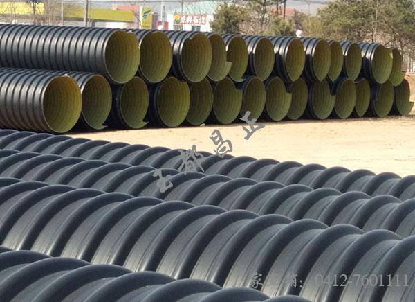 钢带螺旋波纹管埋地排水用钢带增强聚乙烯(PE)